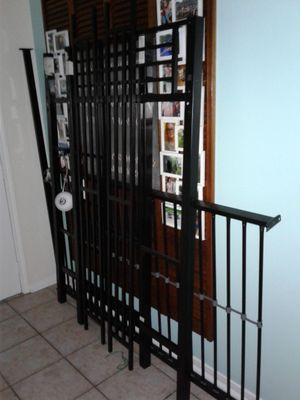 TALL 6ft Black Metal Loft Bed No Mattress Included Normal Wear From