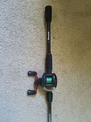Bait casting rod and reel