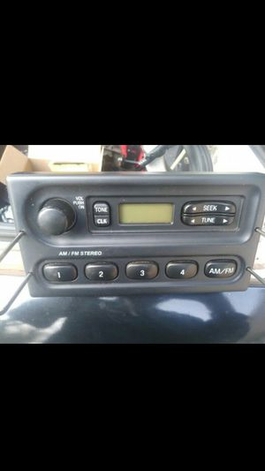 Crown vic stock radio