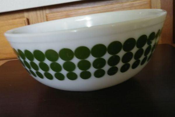 Rare 1960s PYREX \'New Dot\' 4 Qt. Mixing Bowl (Household) in Post ...