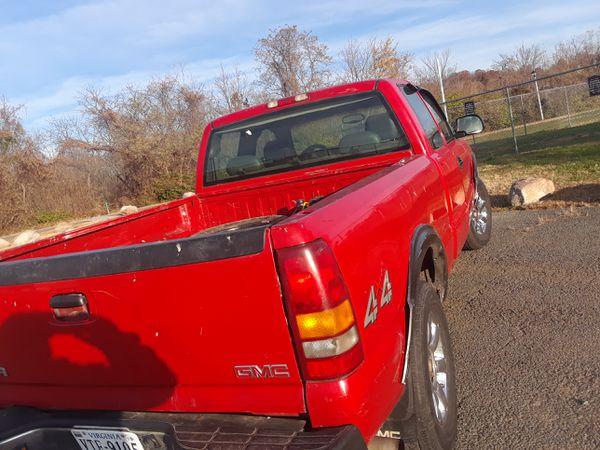 2003 K1500 gmc Sierra off road 4x4 ready for hard Work
