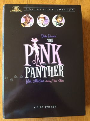 Pink Panther Movie Set: 6-disc set, Pink panther and pink panther 2