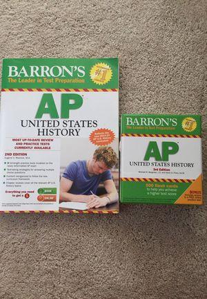 AP Us History Review Book & Flashcard Set
