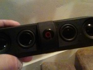 Beats speaker missing front plate