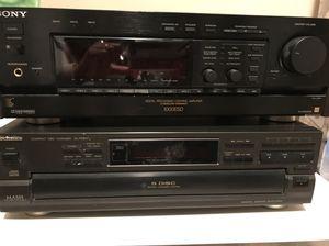 Stereo equipment!