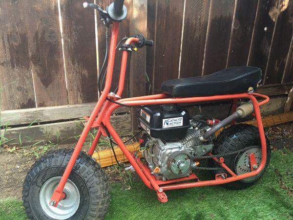 baja doodlebug mini bike with predator motor motorcycles. Black Bedroom Furniture Sets. Home Design Ideas