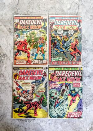 Comic Book Lot - Daredevil & Black Widow