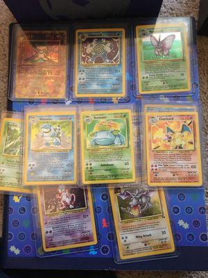 Pokemon cards Charizard blastoise