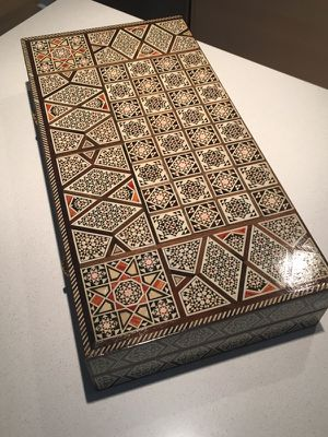 Syrian Handmade Backgammon Set