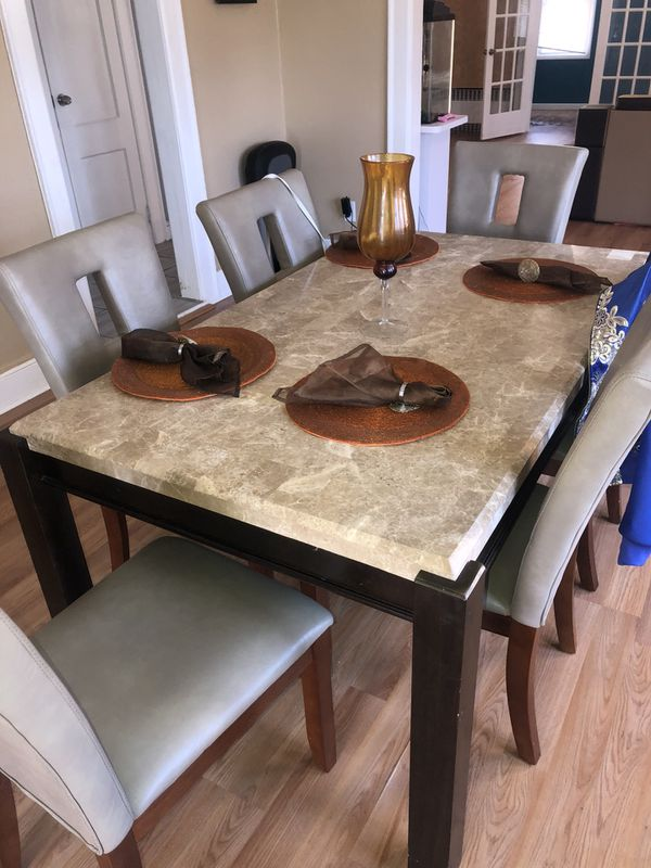 Dining Room Set Brand New With 4 Chairs Furniture In Brooklyn NY