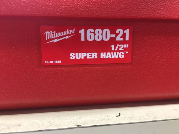 Milwaukee 1680-21 Super Hawg Like New