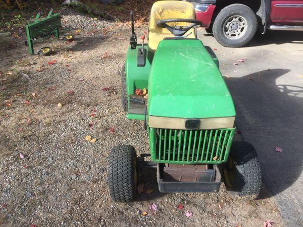 John Deere 265 Garden Tractor Garden Ftempo