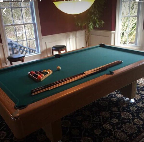 Pool Table Ft Just Taken Apart Games Toys In West Warwick RI - How to take apart a pool table