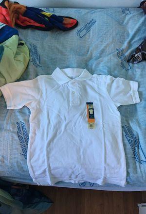 Uniform white polo