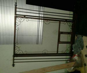 Vintage dog gate