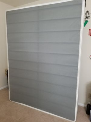Mattress and metal Bed frame Queen size