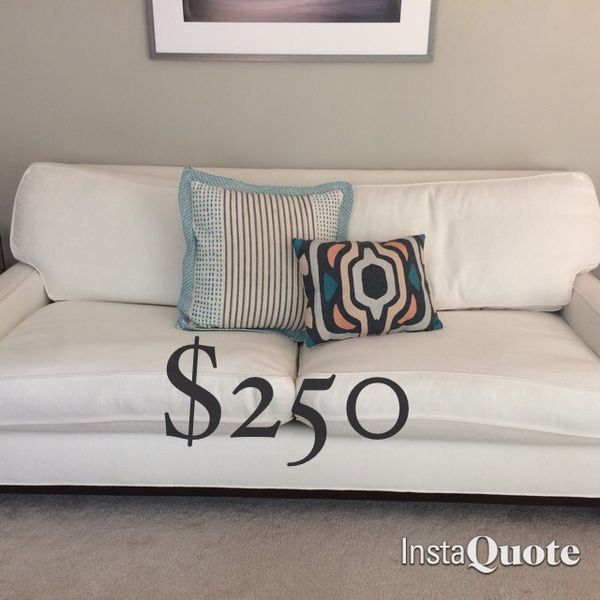 Pottery barn couch sofa furniture in everett wa for Sectional couches everett wa