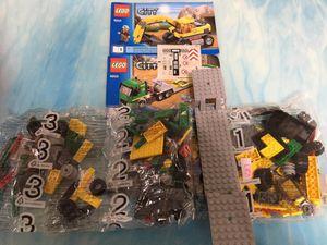 Lego 4203 City Excavator Transporter