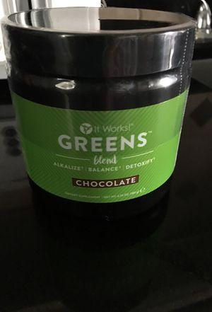 It works chocolate powder