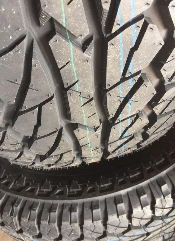 35 12 5 18 New Big Tires 80 000 Mile Warranty Auto Parts In
