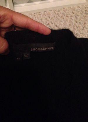 100% cashmere black sweater -M