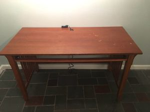 Wood Table Desk - Will Deliver