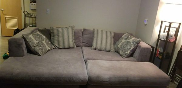 L Shaped Couch With Ottoman Furniture In Seattle Wa Offerup