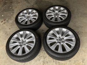 "18"" Honda Wheels & Tires (Like New)"