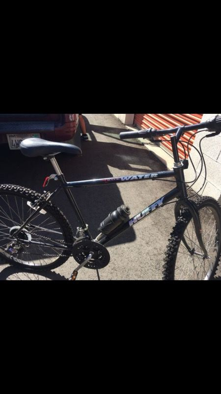 Huffy Back Water Black Mountain Bike Used Once New Bicycles