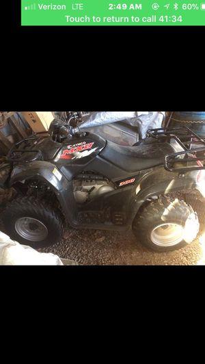 300cc kymco 4-wheeler