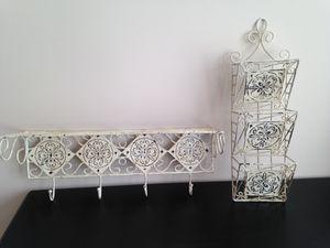 Set of matching wall shelves