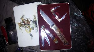 2004 Winchester limited edition knife set