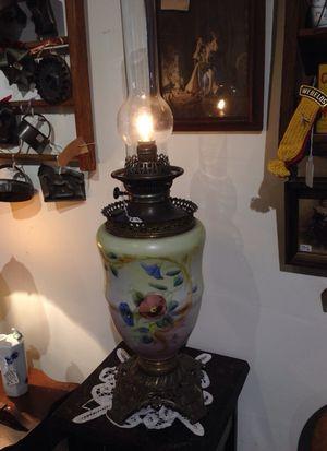 Large Oil Lamp