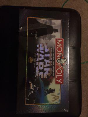 Star Wars trilogy monopoly new sealed