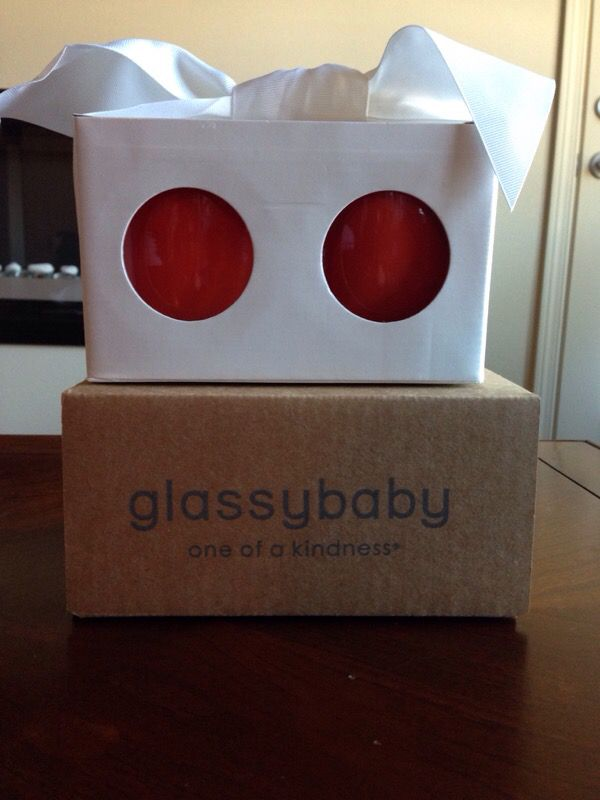 Glassybaby Seattle Sunset Sale Pending Household In