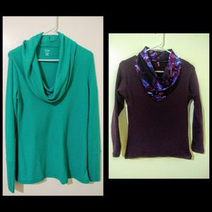 New, Falling neck winter tops