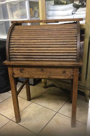 Child Size Antique Roll Top Desk