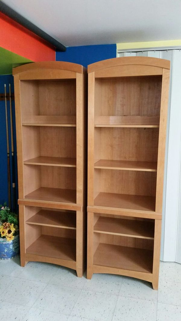 Set of bookcases furniture in chicago il offerup for Furniture 60614