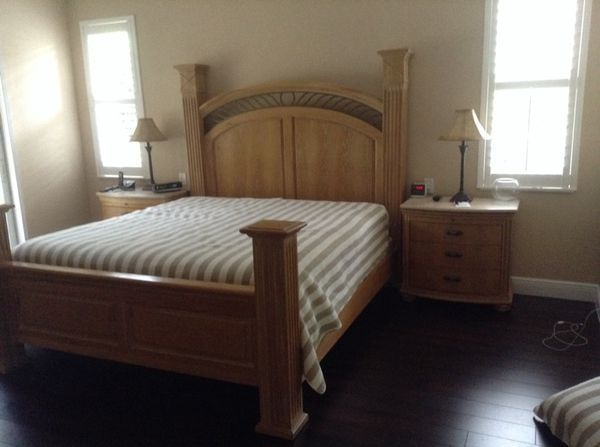 Lexington atlantic overtures king size bedroom set - Used lexington bedroom furniture ...