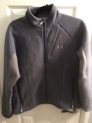 Women's Under Armour Purple/Grey/Black Heavyweight Fleece Jacket