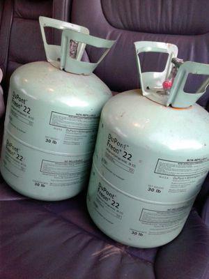Refrigerante r22 cellado