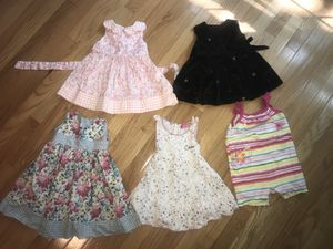 Dresses, shorts and romper size 12months