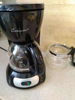 Coffee maker 4 cup with extra pot