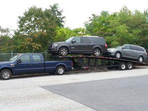 2008 Ford F3500 turbo diesel plus 2008 hauler trailer