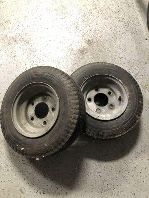 Trailer wheels / tires