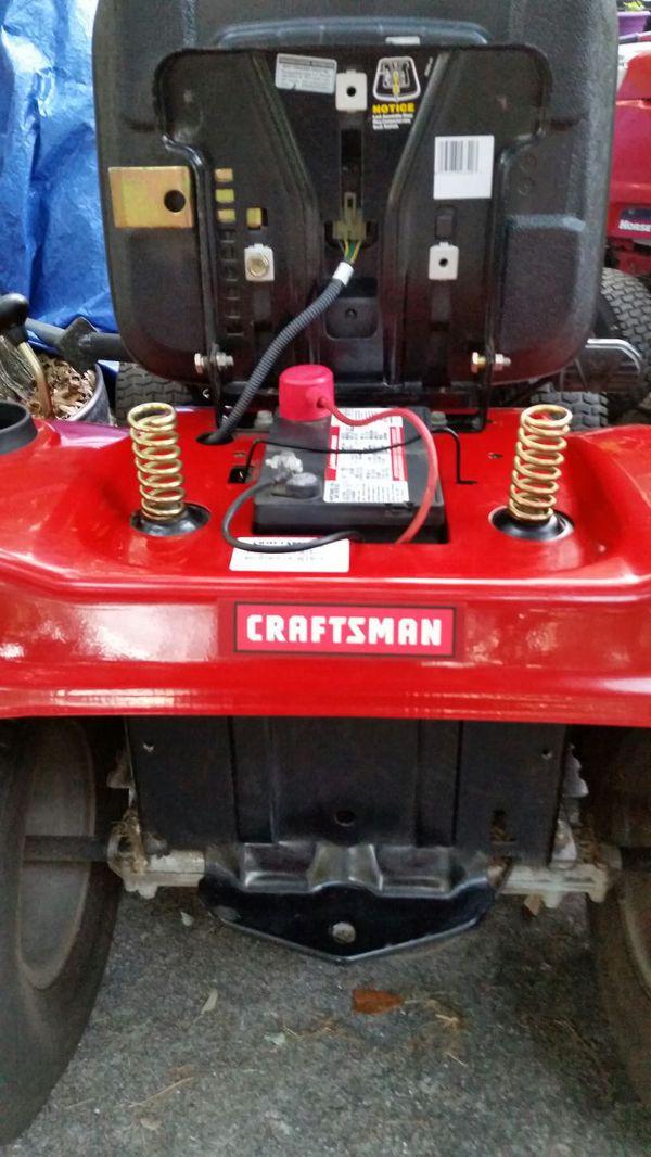 Craftsman 2000 Series Mower : Craftsman riding mower general in lakeland fl offerup