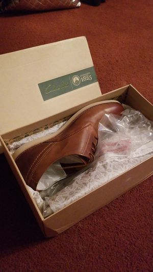 Mens leather Clarks size 12