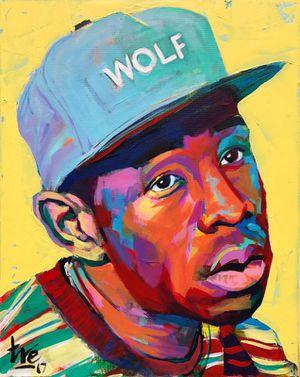 Tyler the Creator - original painting