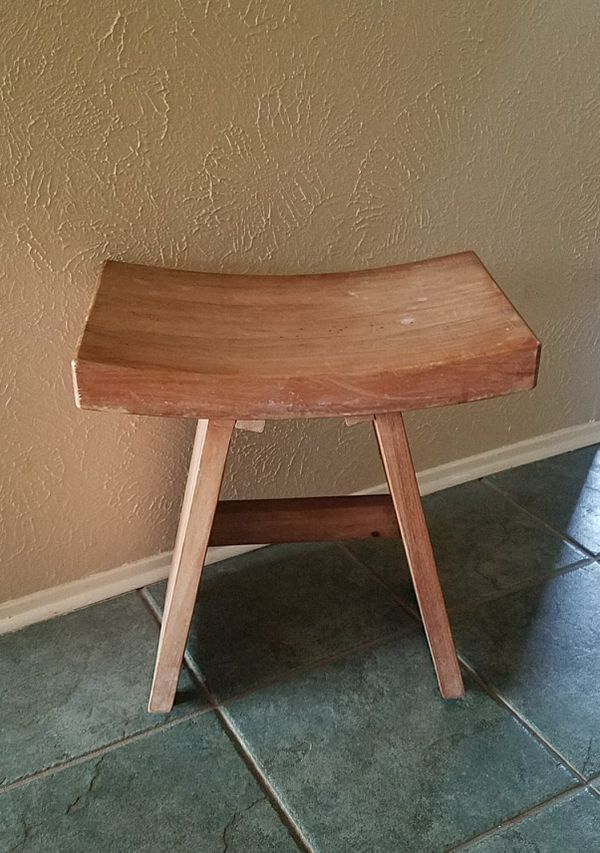 Solid teak wooden shower stool (Home & Garden) in Plano, TX