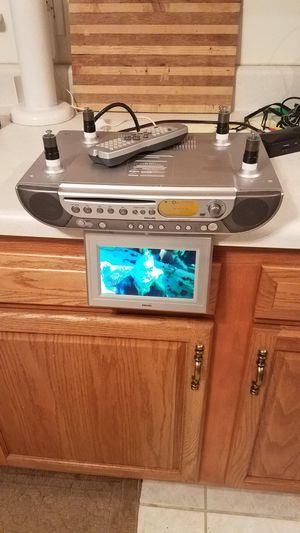 Philips kitchen dvd/cd/tv/am/fm stereo